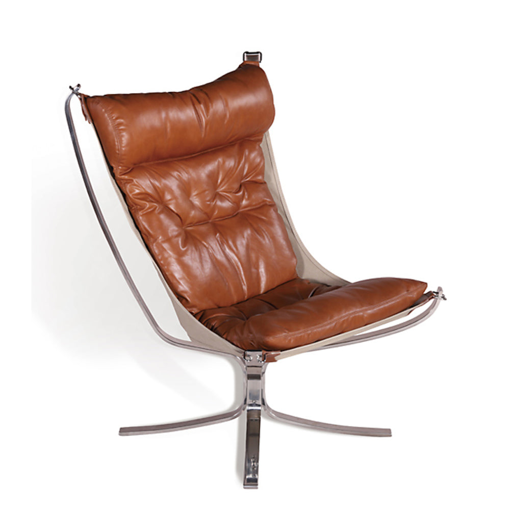 Cologne Leather Occasional Chair