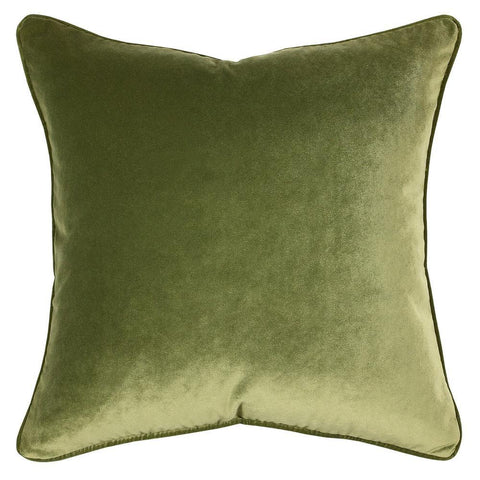 Ivy Green Velvet Throw