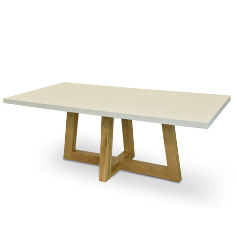 Whitelaw Dining Table with Natural Base