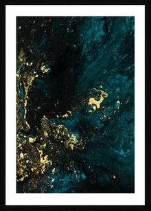 Teal Reverie II Photographic Framed Print
