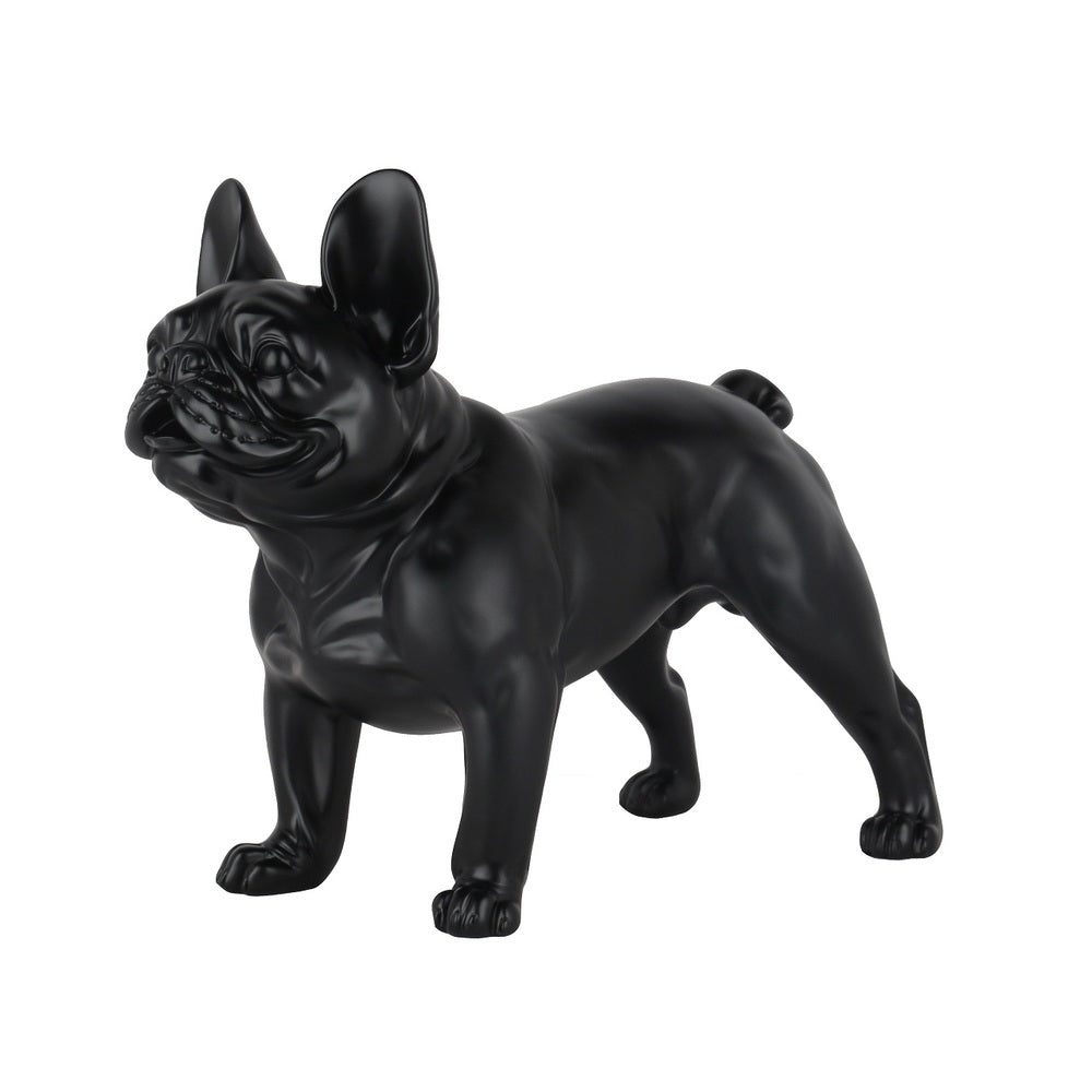 French Bulldog Standing Matt Black