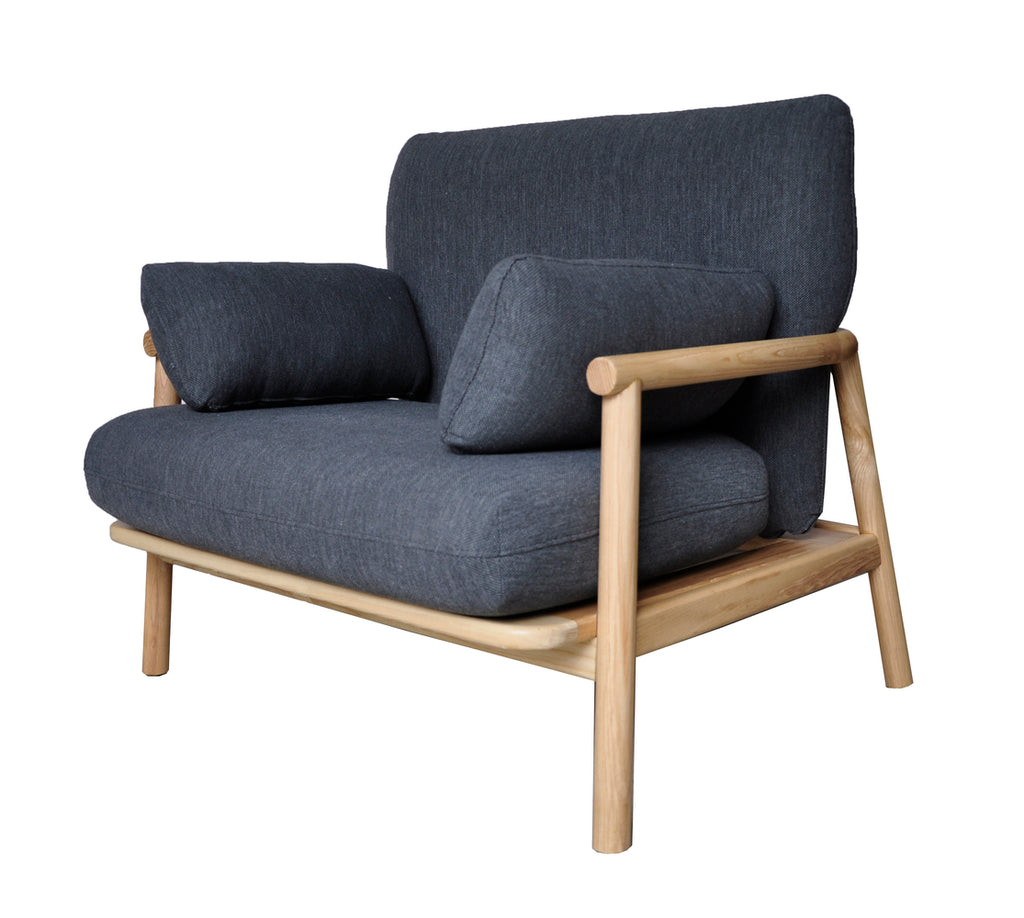 Norm Arm Chair Charcoal