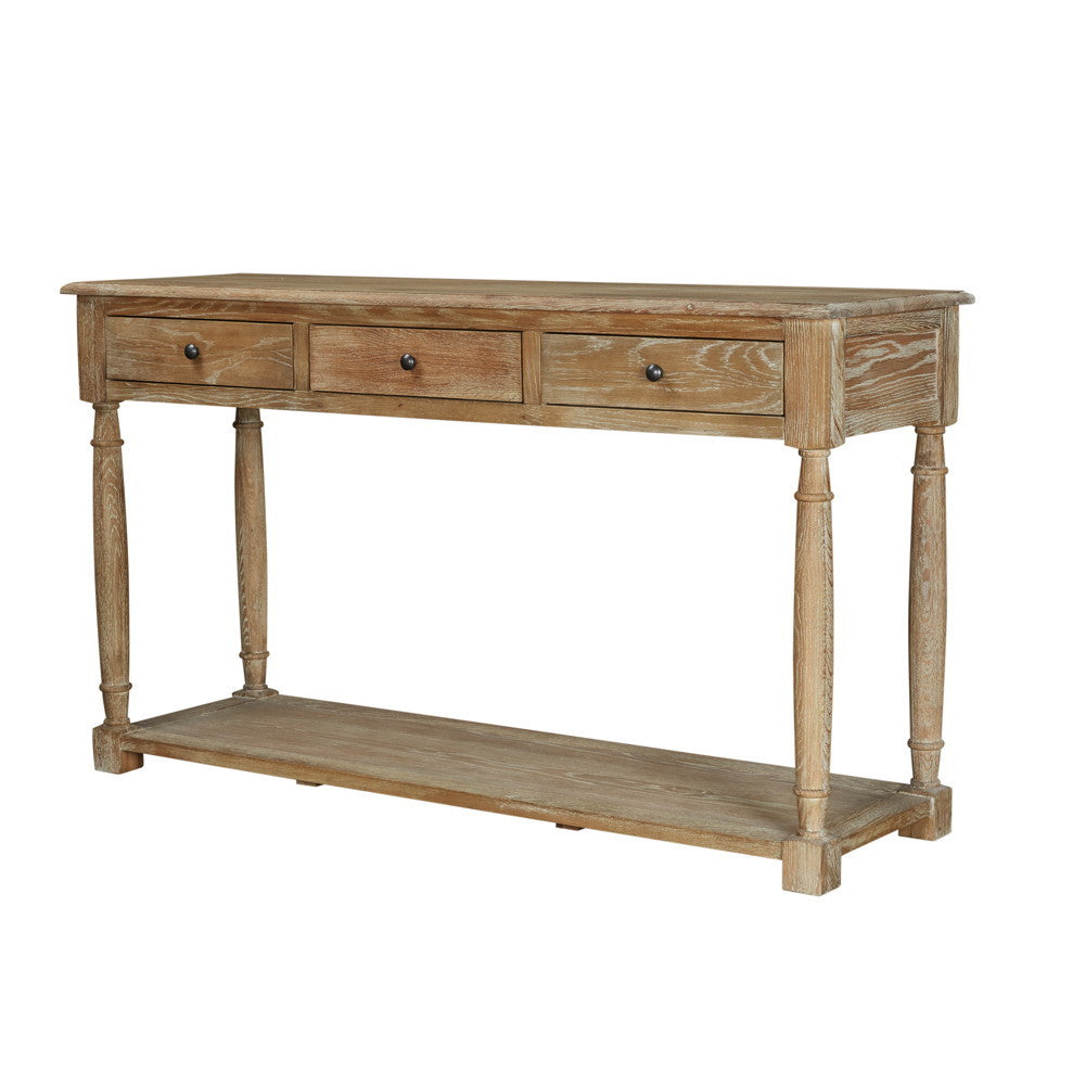 Tiffany 3 Drawer Console