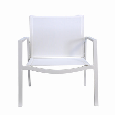 Male Lime Indoor/Outdoor Lounge Chair White