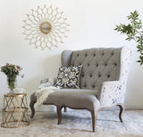 Floral Wing Love Seat