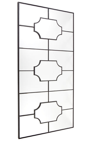 Boyd Floor Mirror Black