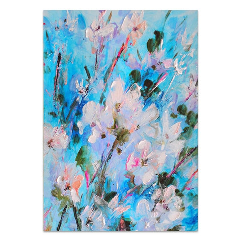 Floristar Canvas Painting with Floating Frame
