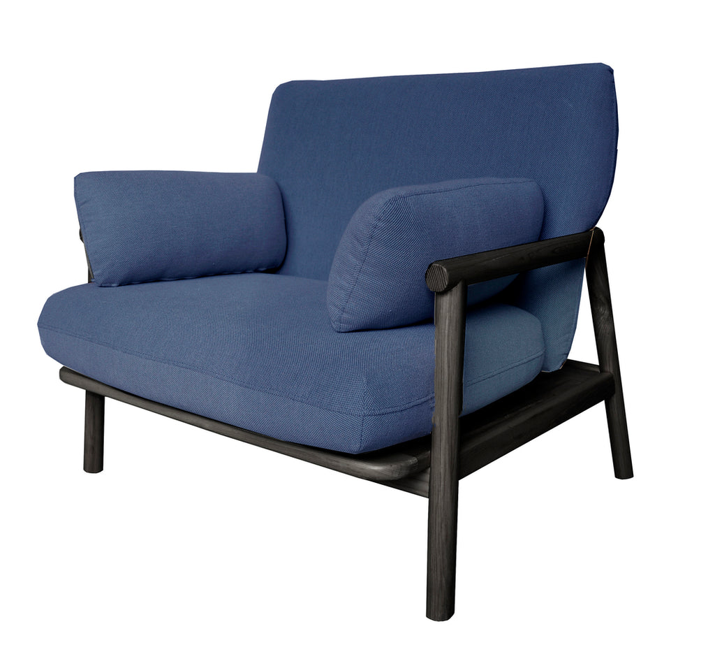 Norm Arm Chair Navy