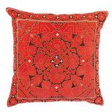 Kilim Cushion, Orange