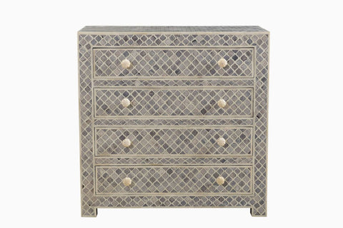 Long Beach Chest of Drawers White