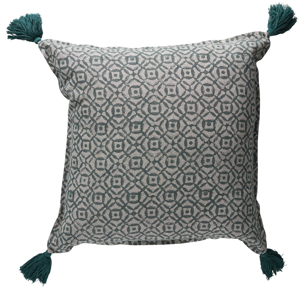 Balveer Glaze Grey Cushion