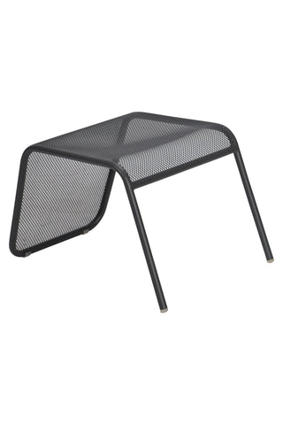 Malmo Outdoor Footstool Anthracite