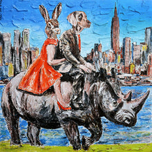 They Were Wild and Free in New York Print