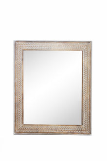Abdera Wooden Carved Mirror