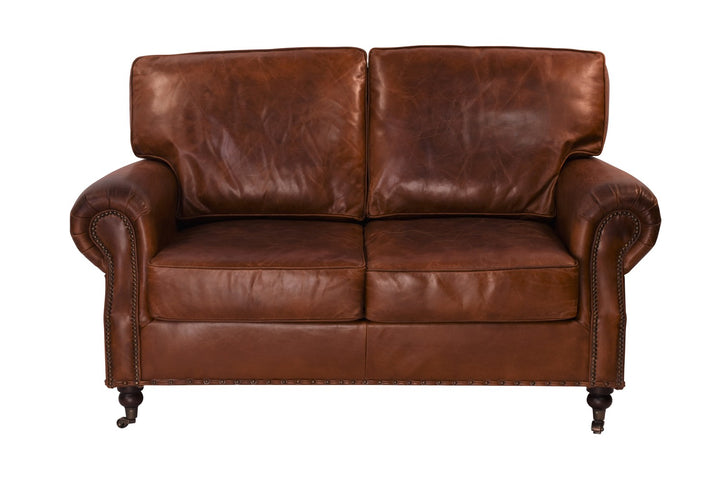 Vintage Leather Kent Sofa 2 Seater