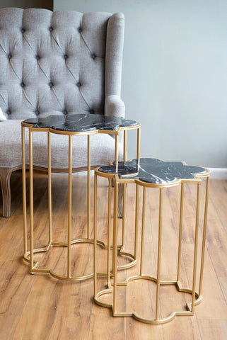 Arabesque Side Tables Set/2