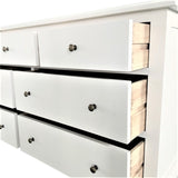 Multi Drawer Chest Matt White