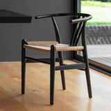 Wickham Dining Chair Pair Black