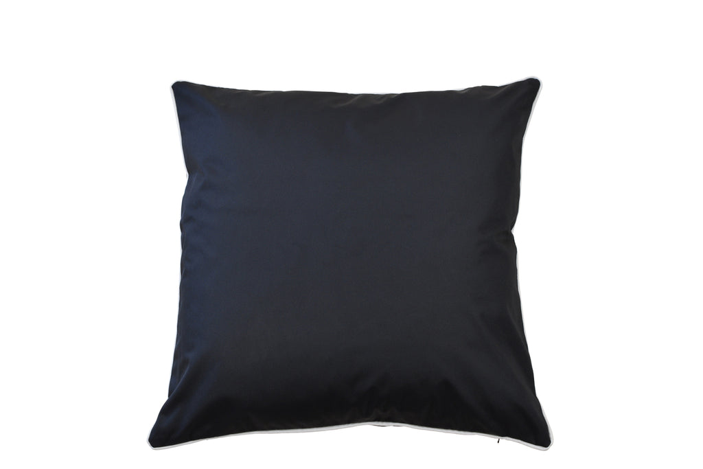 St Malo Indoor/Outdoor Cushion Black