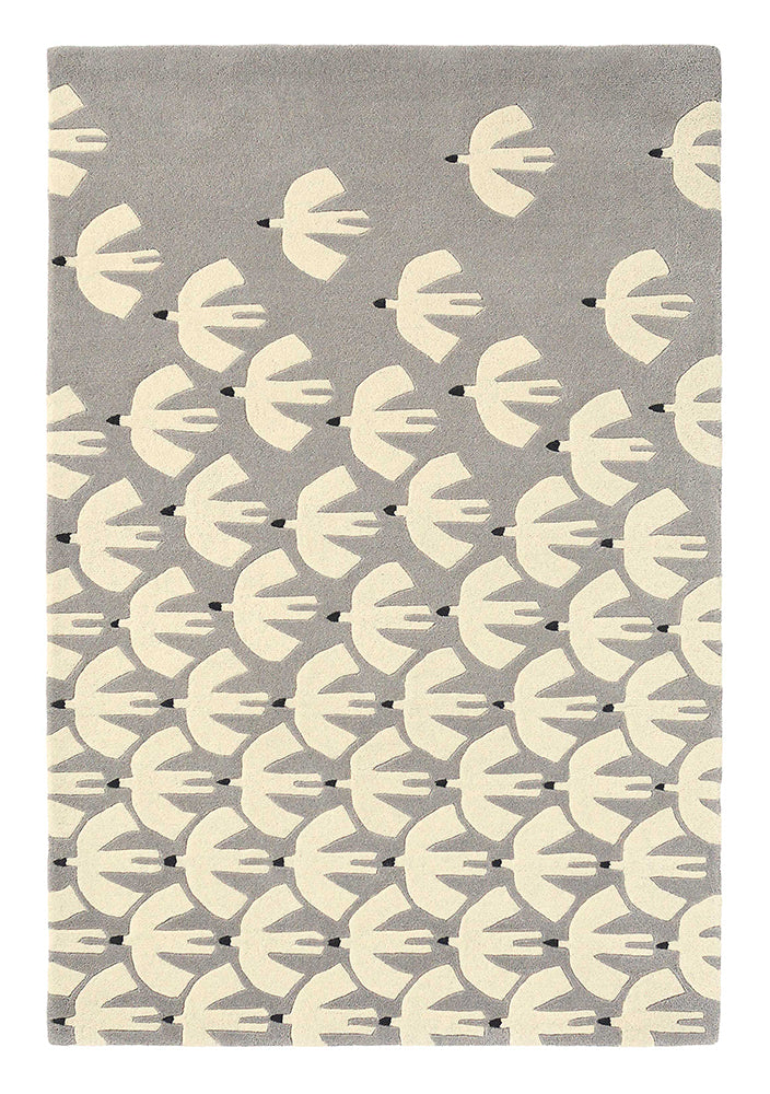 Scion Pajaro Rug Steel