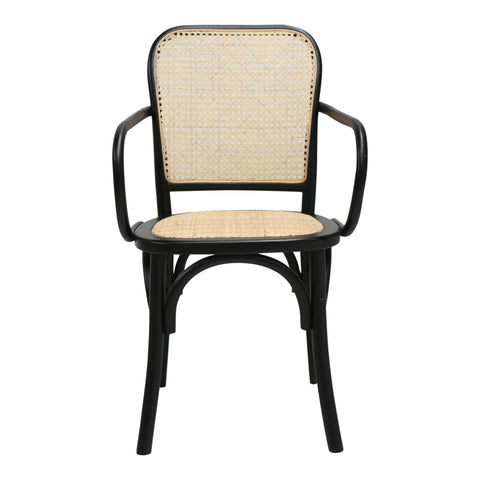 Lundy Rattan Dining Chair Pair