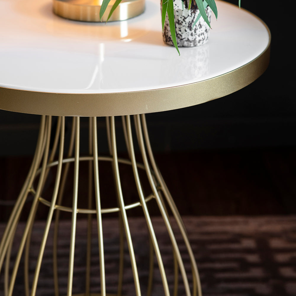 Sidmouth Side Table Champagne