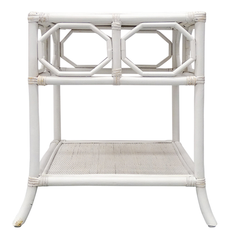 Palms Side Table White