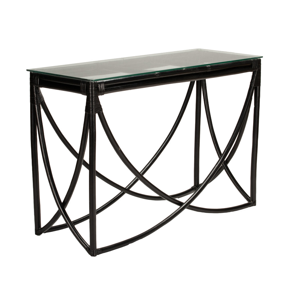 Kahalu Console Table Black