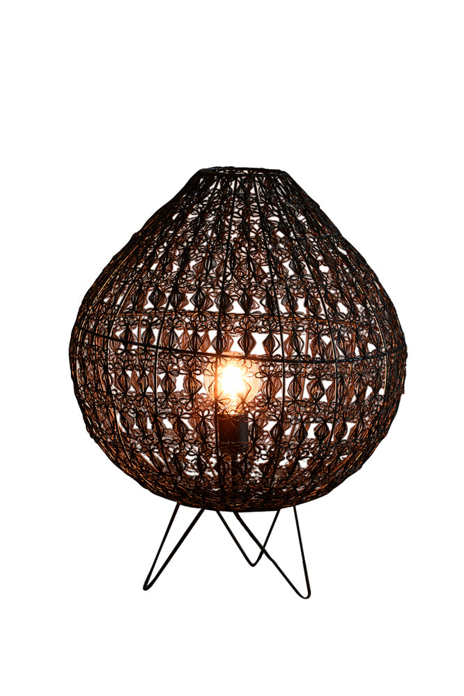 Cocoon Large Table Lamp Black