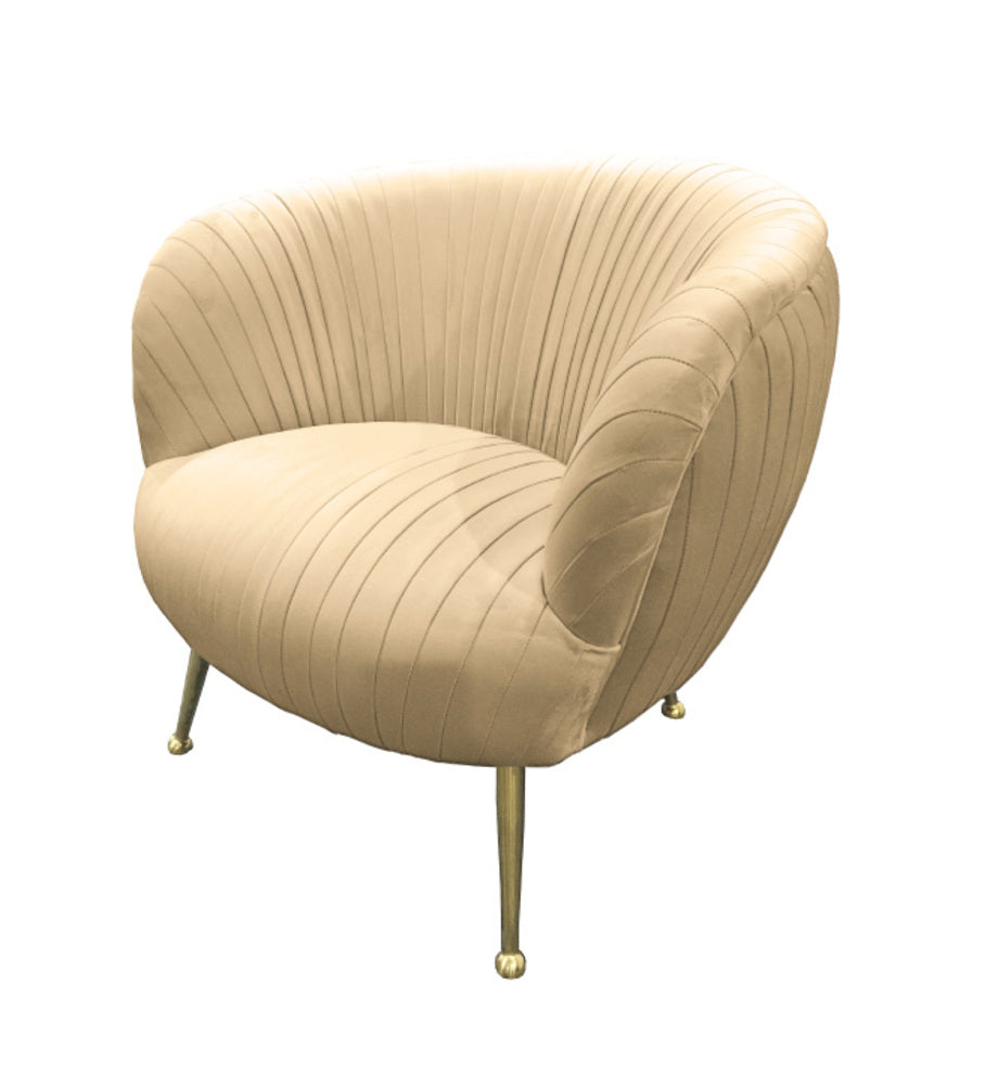 Perugia Arm Chair Dusty Cream