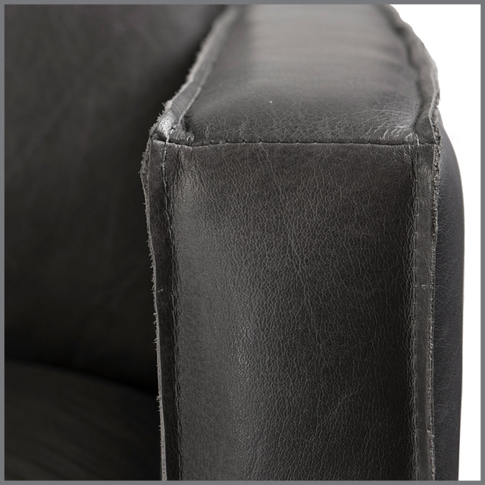 Gaspard Sofa Chocolate Leather