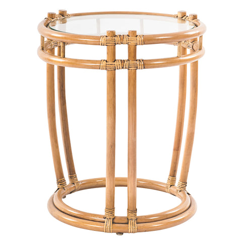 Plantation Drum Stool