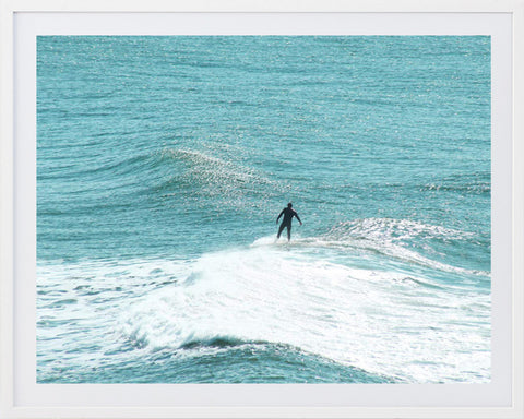 Surf Framed Photographic Print