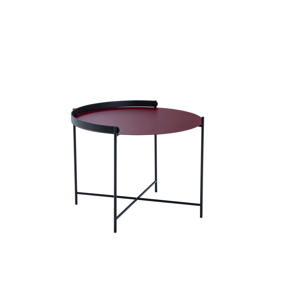 Edge Table Oxblood Medium