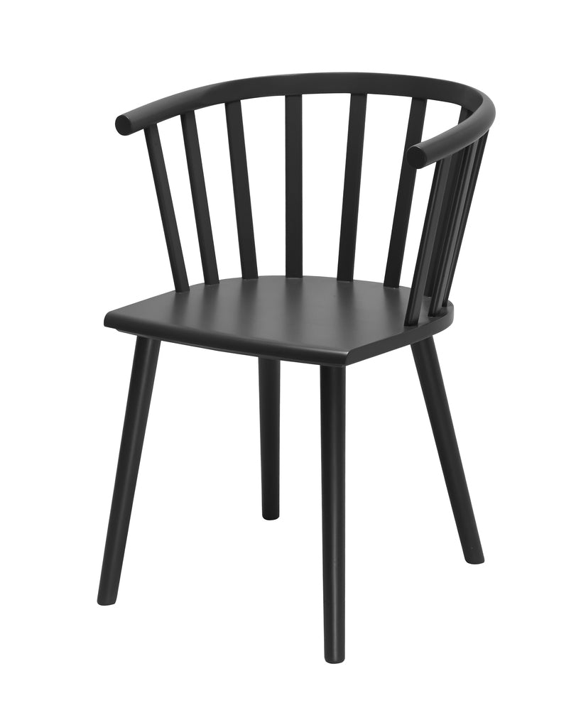 Malmo Dining Chair Black