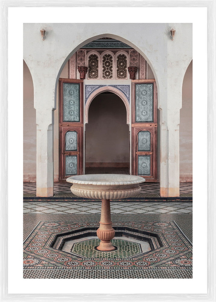 Bahia Palace Photographic Print with Frame