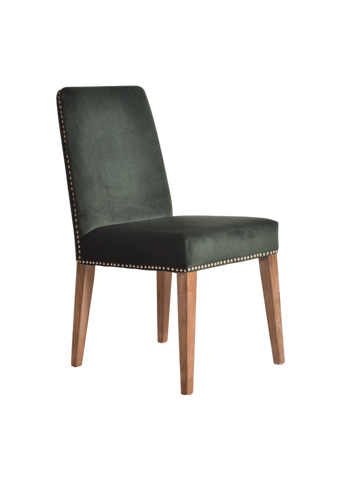 Logan Dining Chair Highland Green Pair