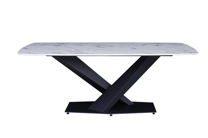 Rinaldo Dining Table Black Base