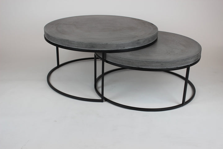 Peninsula Nest Coffee Tables Grey