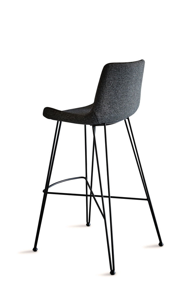 Brooklyn Bar Stool Dark Grey