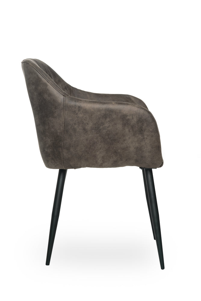 Gallo Arm Chair Chamois Grey