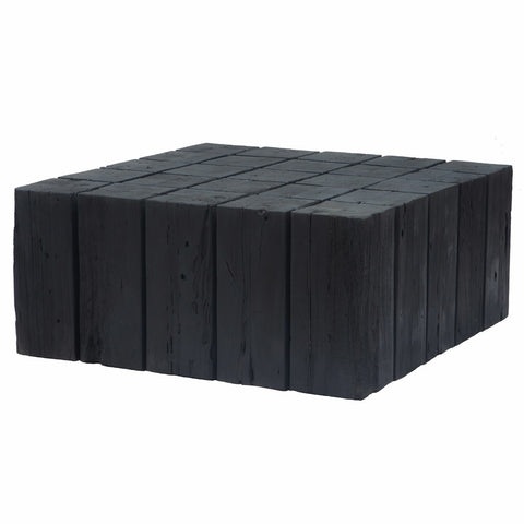 Hamali Block Coffee Table Charred