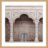 Red Fort Photographic Print with Frame