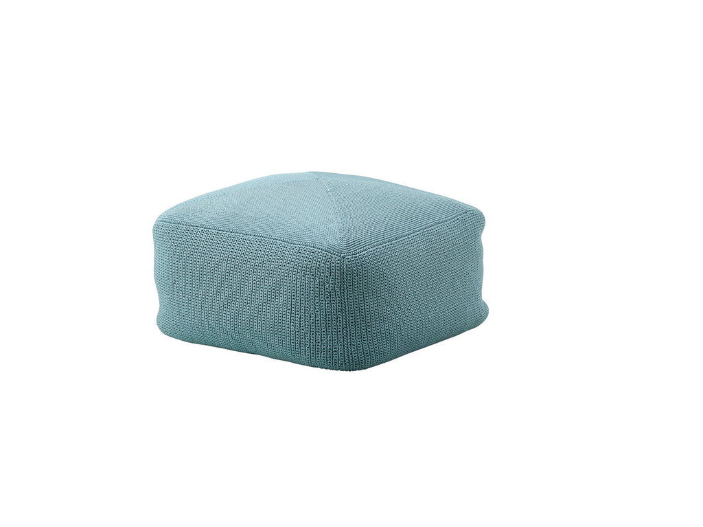 Divine Indoor/Outdoor Ottoman Turquoise