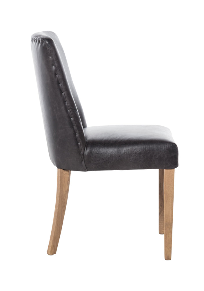 Che Dining Chair Distressed Black