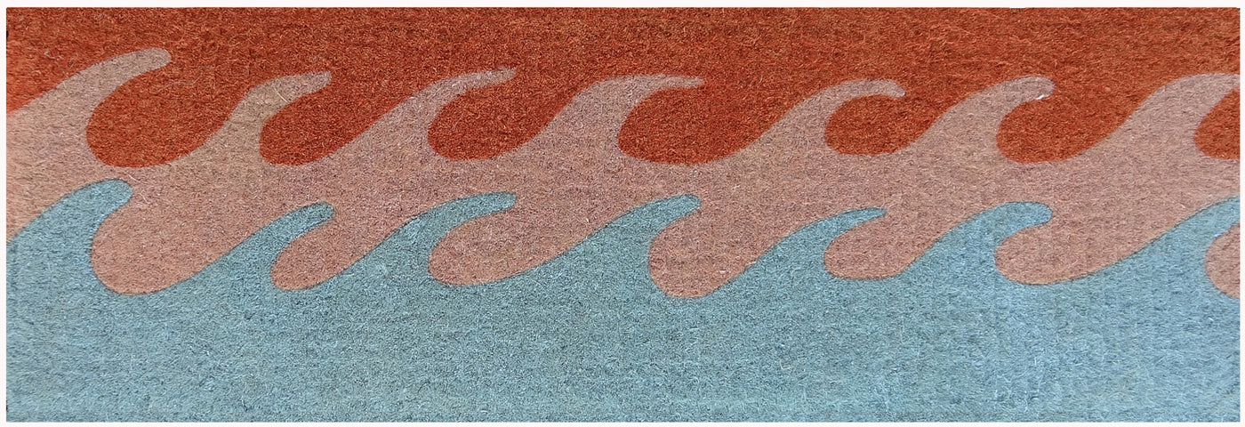 Waves French Doormat