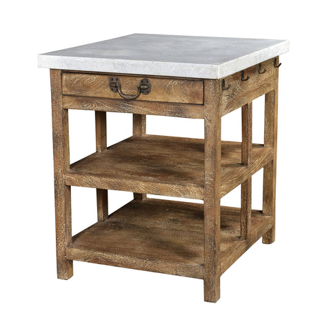 Lars Kitchen Island Bench Large