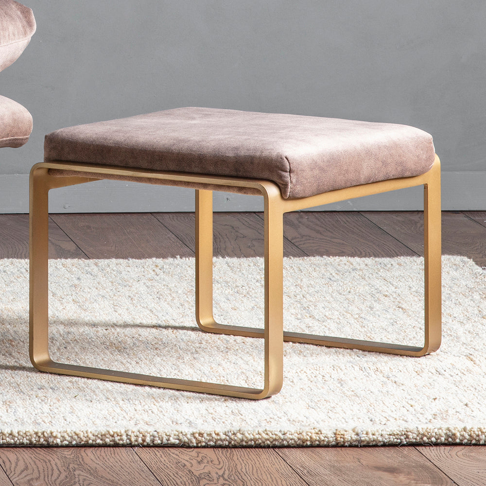 Vicenza Footstool Mineral