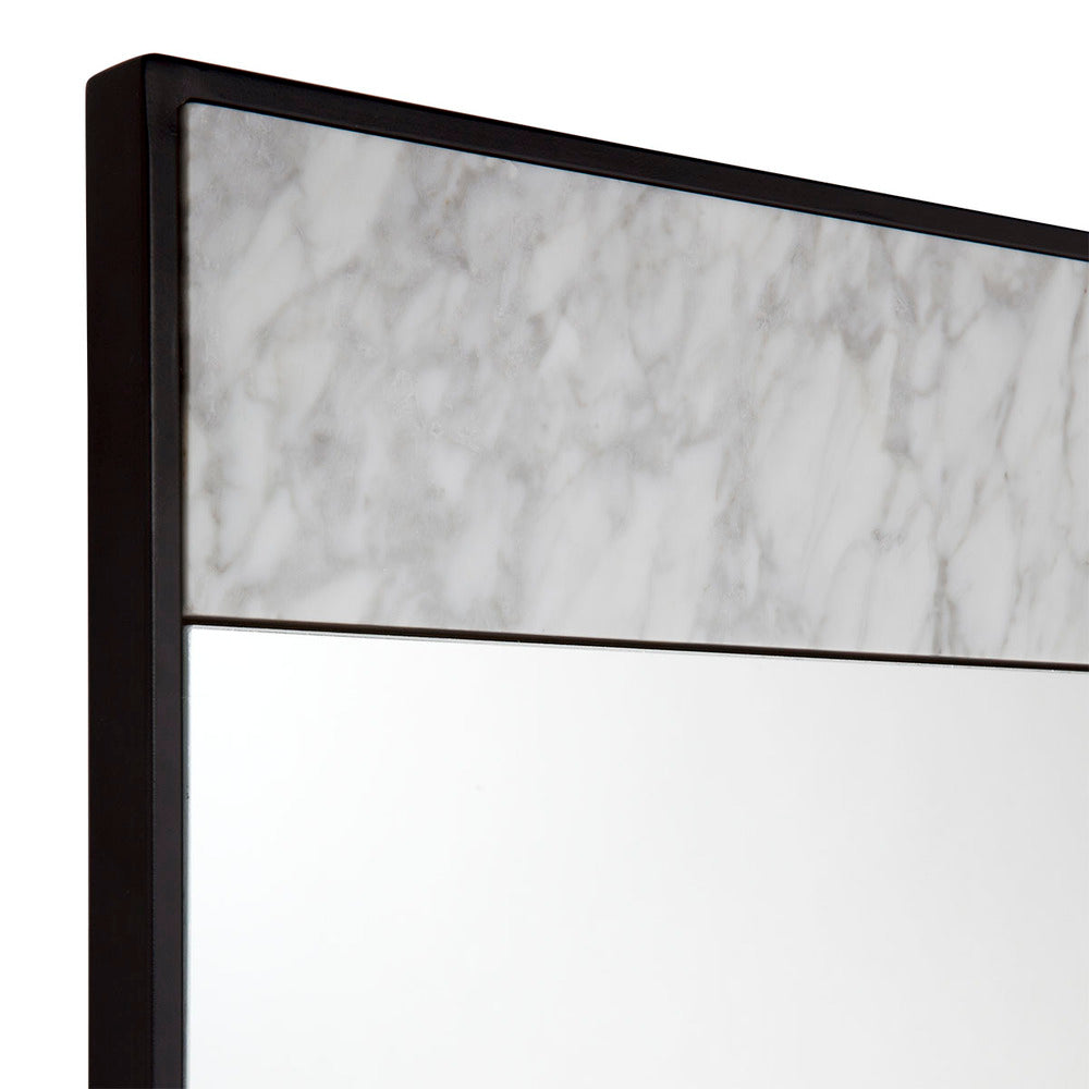 Paris Marble Floor Mirror