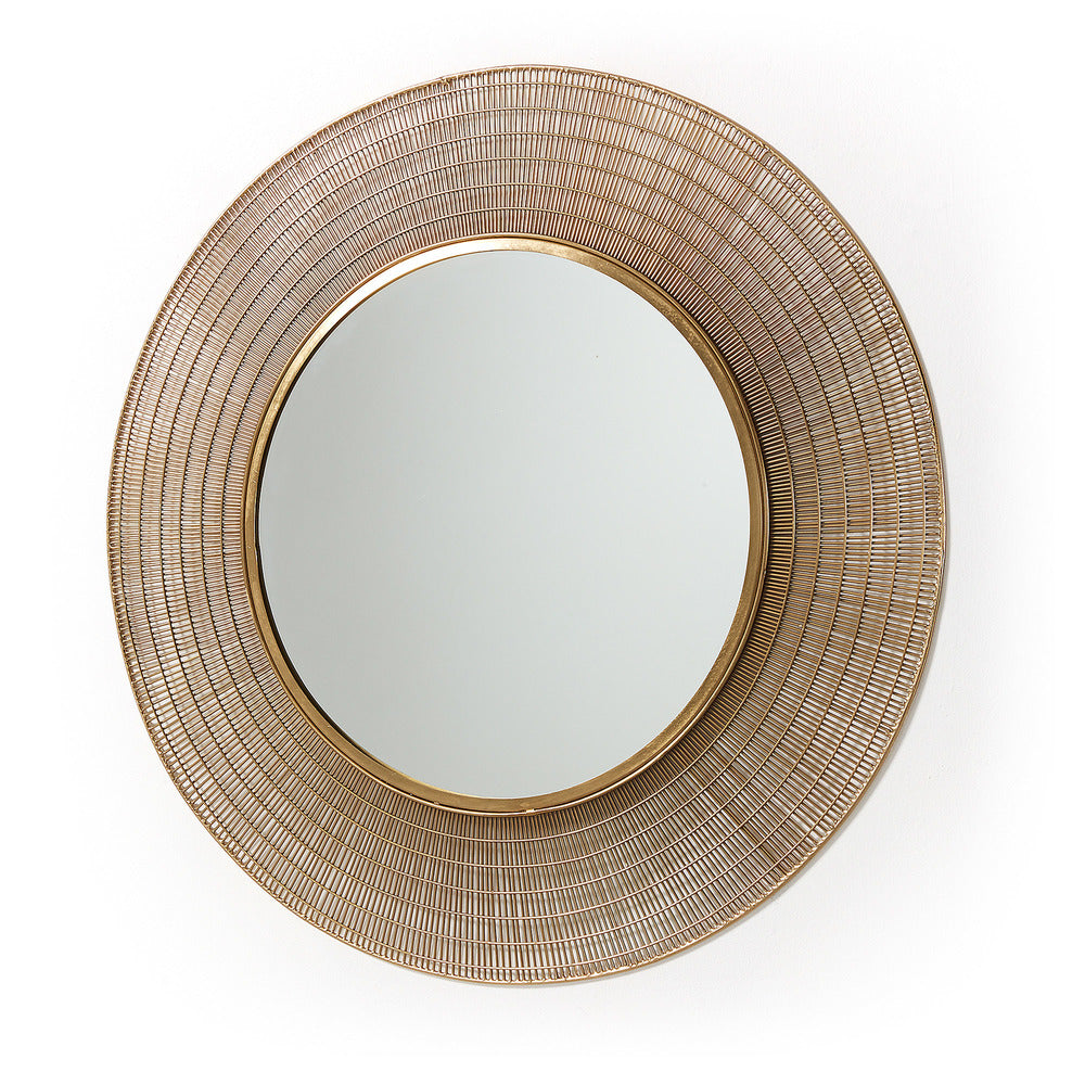 Crafers Round Mirror